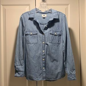 Old Navy Jean Button Down